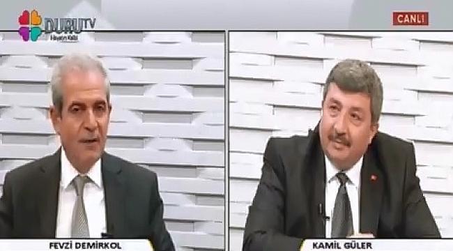 Demirkol Duru TV'de Güler'in konuğu oldu (Video)