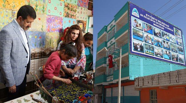 Eyyübiye'ye bir gençlik merkezi daha açılıyor