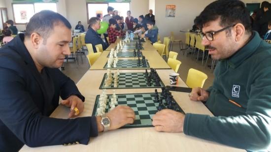 Satranç turnuvası sonuçlandı