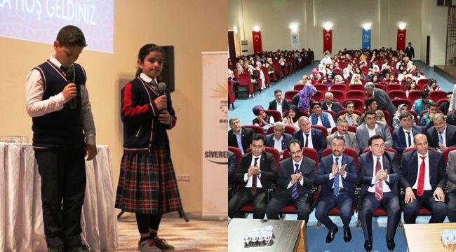 Siverek'te Çanakkale Ruhu konferansı düzenlendi