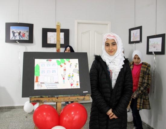 Suriyeli kızın vatan özlemi