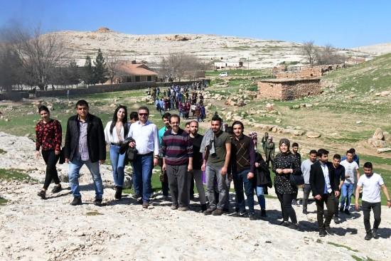 Tarih bölümü öğrencilerine tarihi gezi