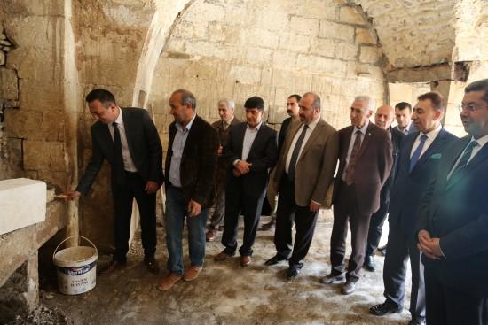 Tarihi kuyulu ev restore ediliyor