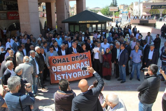 CHP'ye HDP'den destek