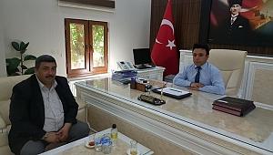 Güler'den Sağlık Müdürü Durgut'a ziyaret