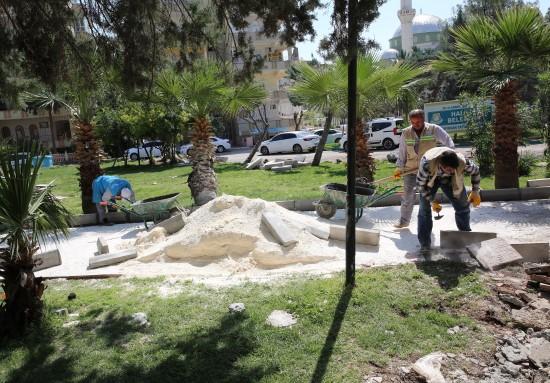 Haliliye Belediyesi, ilçedeki park sayısını arttırıyor
