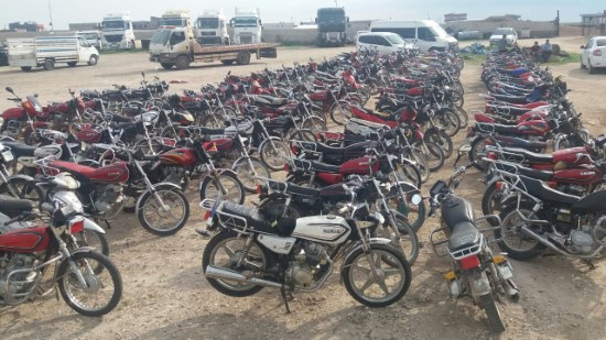 Şanlıurfa'da motosiklet operasyonu