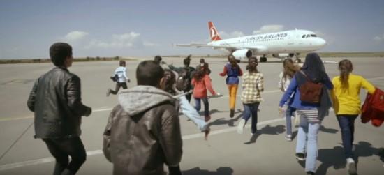 Şanlıurfalı öğrencilerin uçağa binme hayalini THY gerçekleştirdi