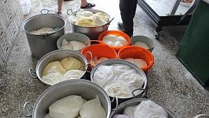 Siverek'te günde 100 ton peynir üretiliyor