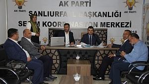 AK Parti İl Başkanı Yıldız'dan SKM'ye ziyaret