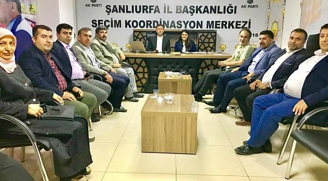 Gazeteciler AK Parti SKM'ye ziyaret