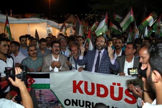 İsrail'in Gazze'deki katliamına tepki