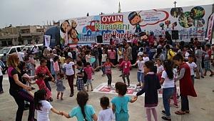 Oyun Karavanı Şanlıurfa'da çocuklarla buluştu