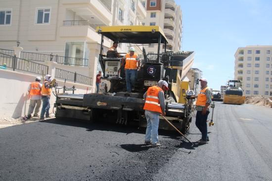 Ramazanda asfalt mesaisi