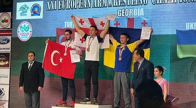 Urfalı sporcu Avrupa ikincisi oldu