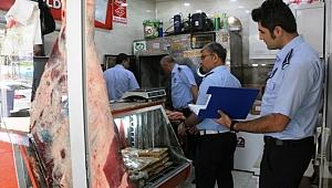 Zabıta ekiplerinden; Kasaplara Ramazan denetimi