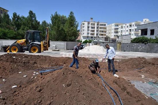 Zeytin Dalı Parkı'nda hummalı çalışma