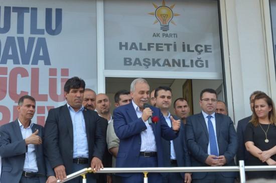 Bakan Fakıbaba HDP'nin politikalarını eleştirdi