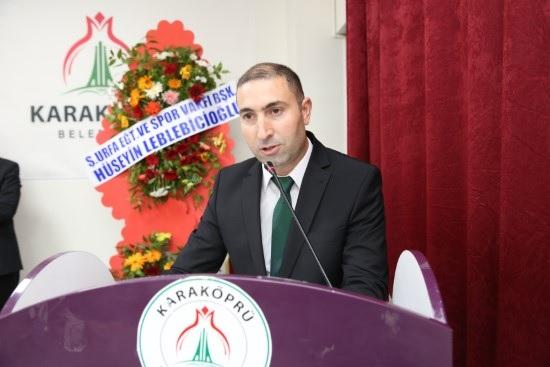 Karaköprü Belediyespor başkanı Aslan oldu