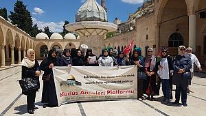 Şanlıurfalı Kudüs Anneleri 26. kez eylem yaptı
