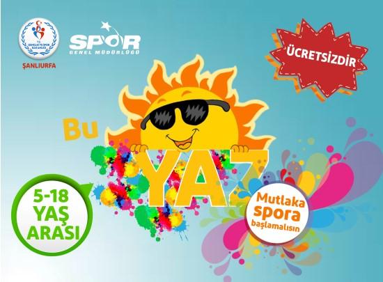 Ücretsiz yaz spor okulları başvuruları başladı