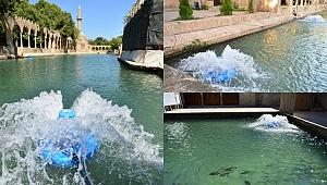 Balıklıgöl'e oksijen desteği