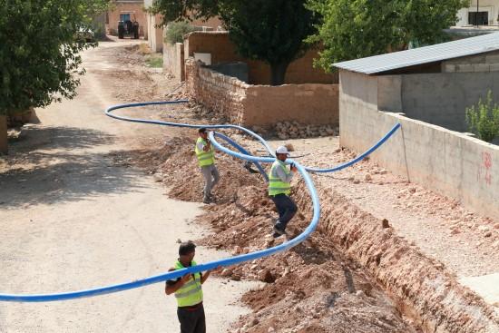Kırsal mahalleler ŞUSKİ ile içme suyuna kavuşuyor