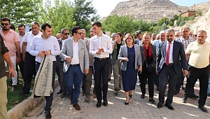 Şahin'den Halfeti'ye ziyaret