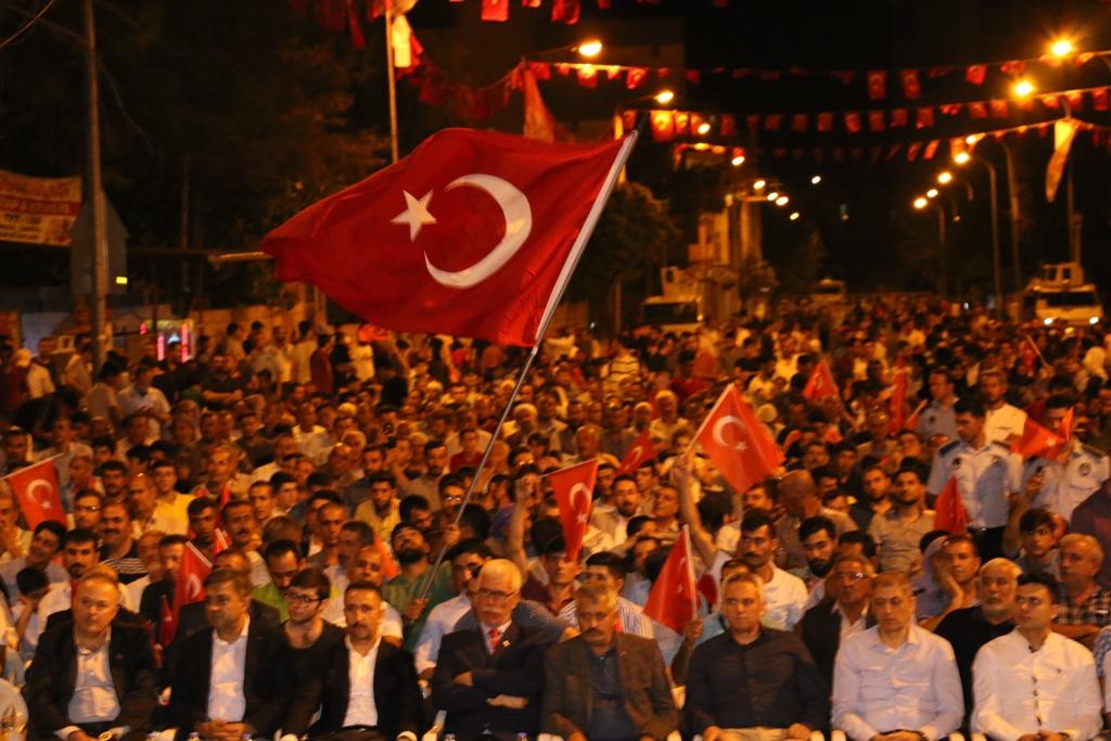 Siverek'te 15 Temmuz Demokrasi ve Milli Birlik günü