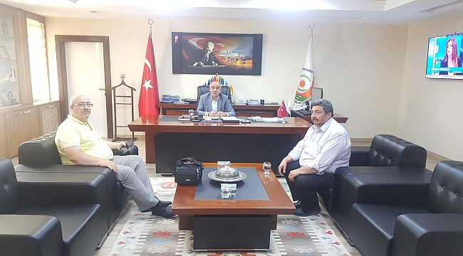 Açar'a Milat Gazetesinden ziyaret