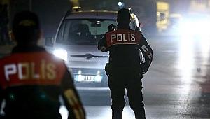 Cinayet zanlısı polis uygulamasında yakalandı