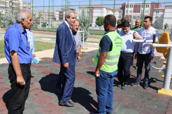 Demirkol, imam bakır mahallesinde çalışmaları denetledi