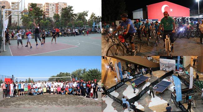 Kardeşlik ve spor turnuvalarına yoğun ilgi