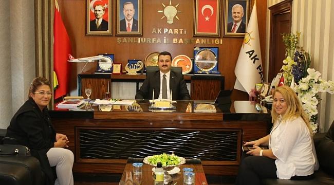 Polat AK Parti İl Başkanlığını Ziyaret Etti