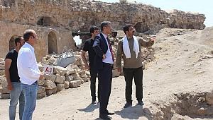Şanlıurfa Kalesinde kazı çalışmaları
