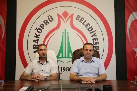 Yıldız'dan Karaköprü Belediyespor'a ziyaret