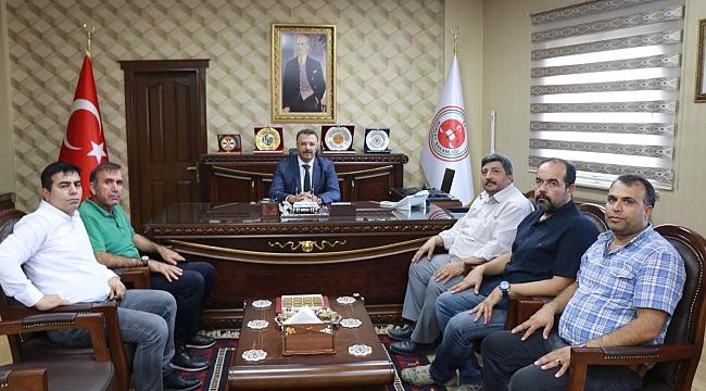 Başsavcı Öztoprak'a gazetecilerden ziyaret
