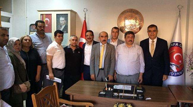 CHP Heyetinden Gazetecilere ziyaret (video)