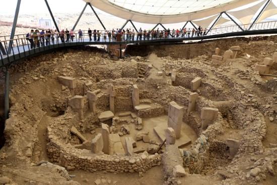 Şanlıurfa'da turizmde yaşanan yoğunluk devam ediyor