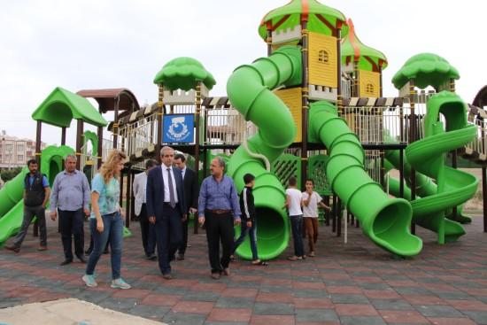 Demirkol: Yeni parkları Haliliye'ye kazandırıyoruz
