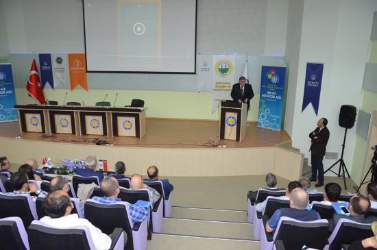 HRÜ'de Mentorluk eğitim lansman toplantısı yapıldı