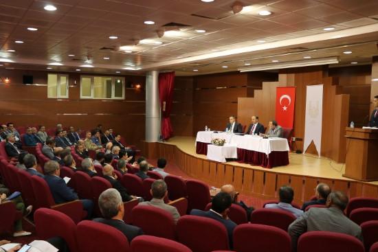 İl koordinasyon kurulu Ekim dönemi toplantısı yapıldı