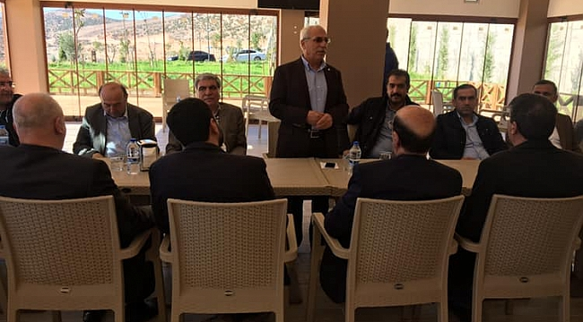 Oda başkanları Takaron Vadisinde toplandı