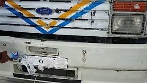 Plakayı tıraş köpüğüyle kapatan sürücü yakalandı