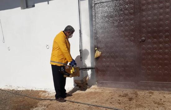 Şanlıurfa'da at ölümleri sonrası ilaçlama çalışması