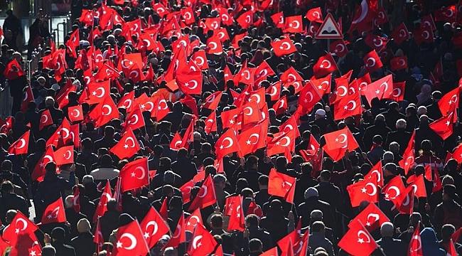 Şanlıurfa'da bayrak yürüyüşü