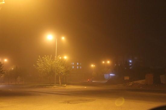 Siverek'te toz bulutu hayatı olumsuz etkiliyor