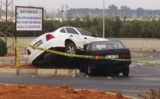 Akçakale'de kaza: 6 yaralı