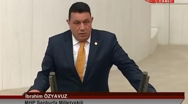 Bucak'a MHP Milletvekili Özyavuz'dan destek (Video)