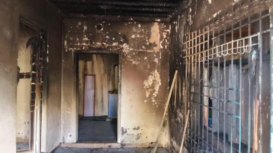 Ceylanpınar'da ev yangını